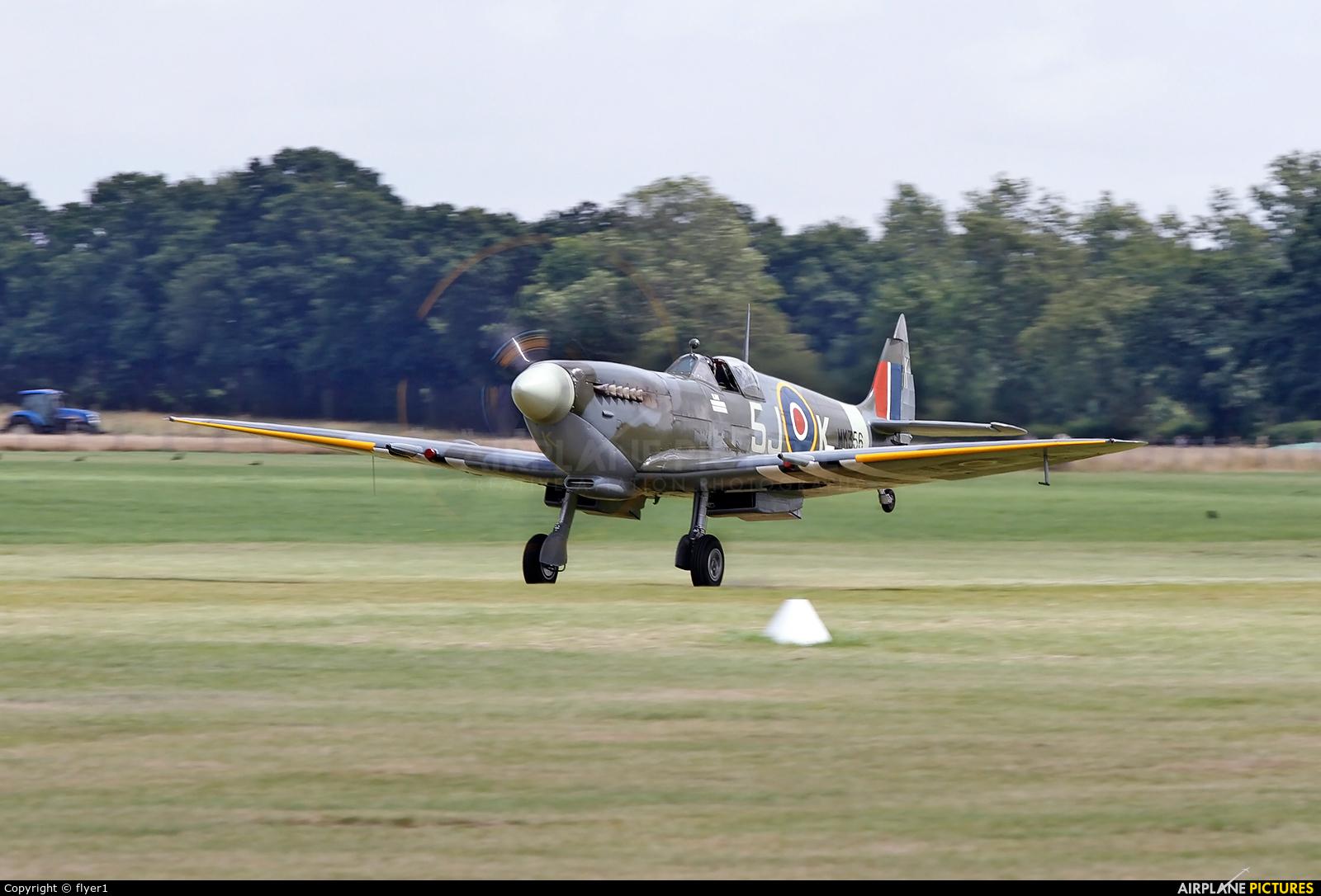 "Royal Air Force ""Battle of Britain Memorial Flight&quot MK356 aircraft at Lashenden / Headcorn"