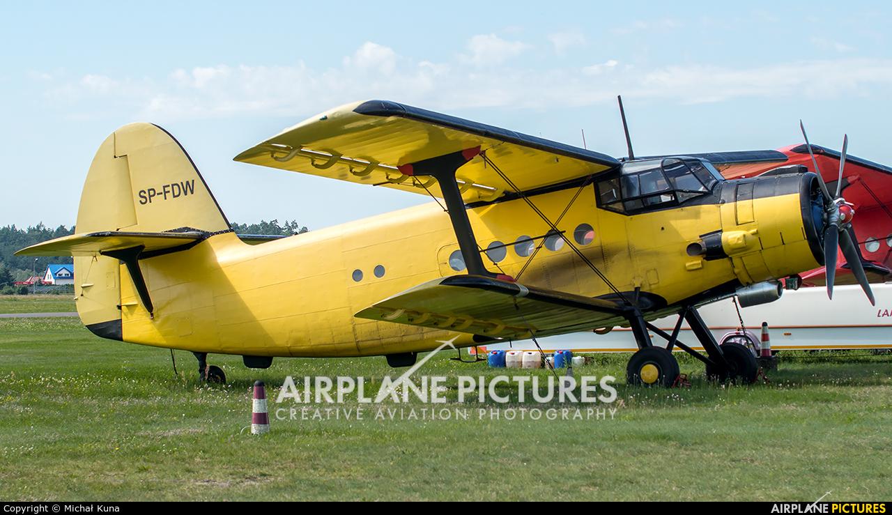 Aeroklub Bydgoski SP-FDW aircraft at Olsztyn-Dajtki