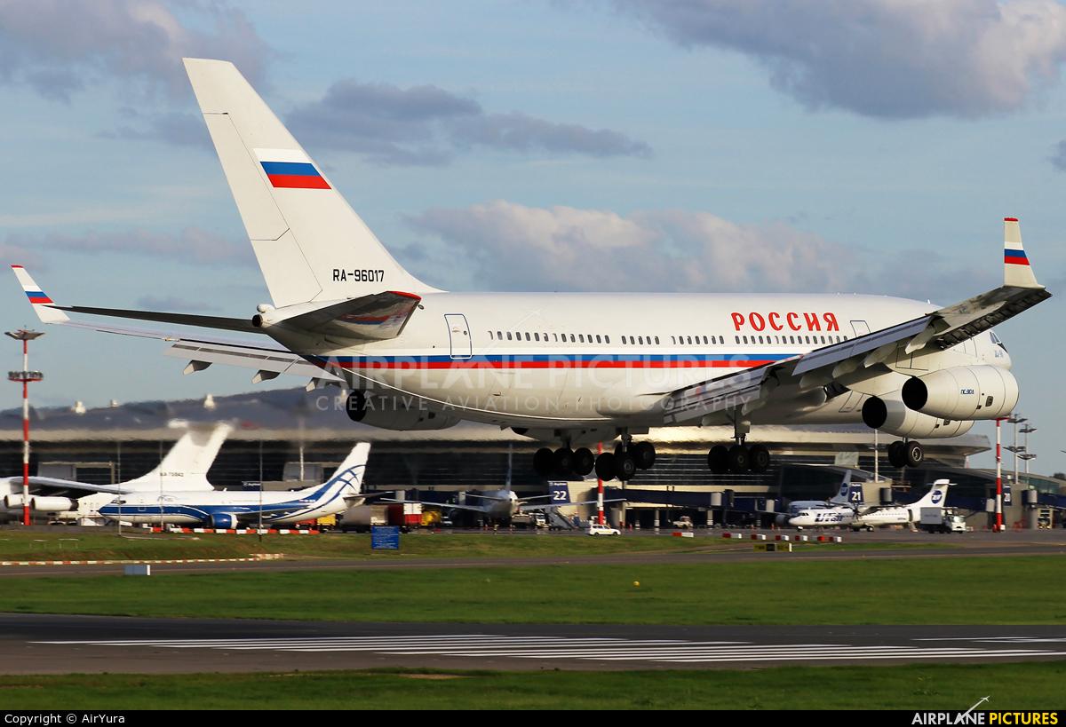 Rossiya RA-96017 aircraft at Moscow - Vnukovo