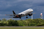 G-POWK - Titan Airways Airbus A320 aircraft