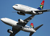 ZS-SIF - South African Cargo Boeing 737-200F aircraft