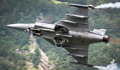 289 - Sweden - Air Force SAAB JAS 39C Gripen