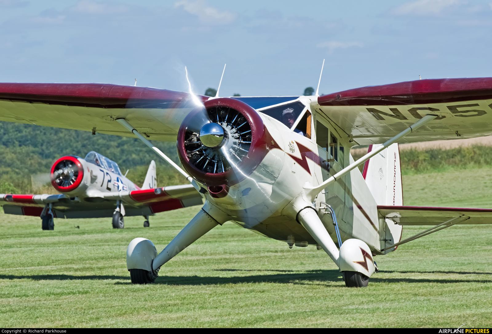 Private NC50238 aircraft at Compton Abbas