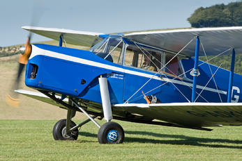 G-ADKK - Private de Havilland DH. 87 Hornet Moth