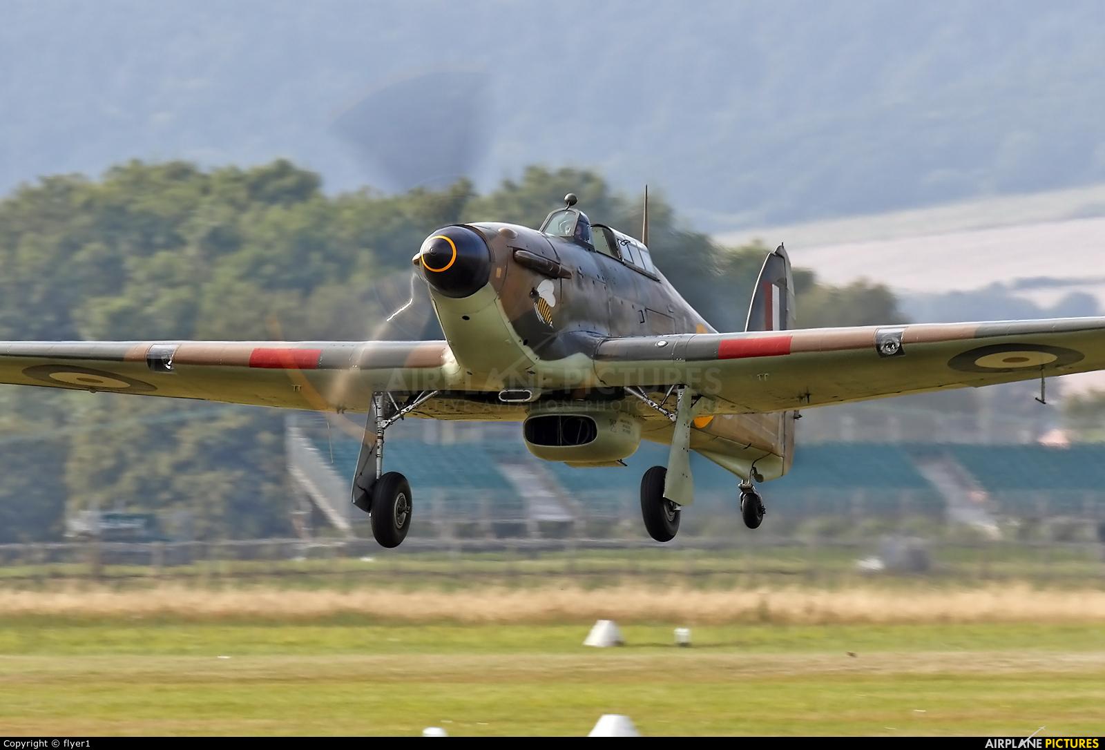 "Royal Air Force ""Battle of Britain Memorial Flight"" LF363 aircraft at Chichister / Goodwood"