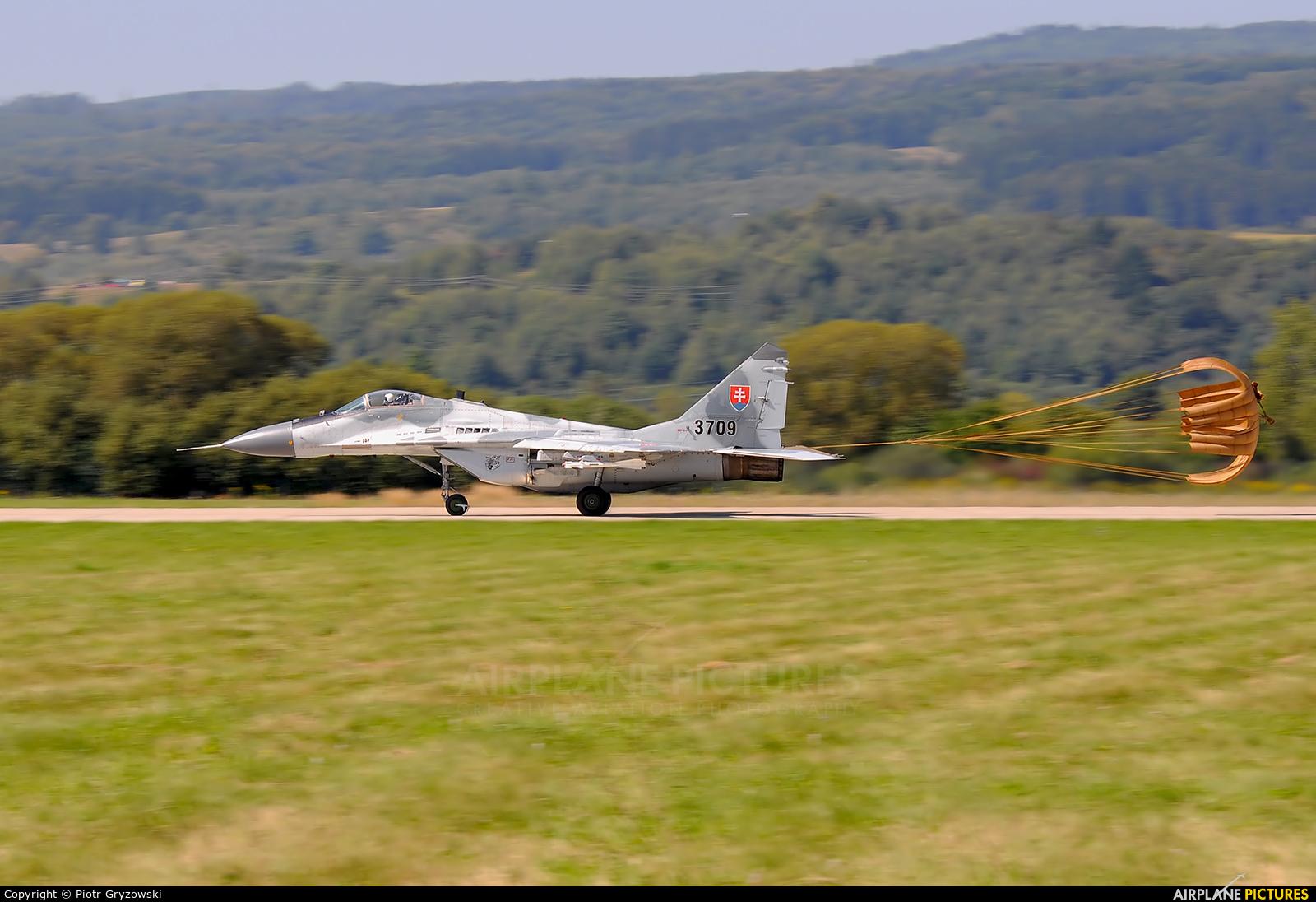 Slovakia -  Air Force 3709 aircraft at Sliač