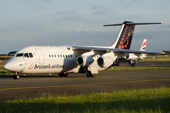 OO-DWD - Brussels Airlines British Aerospace BAe 146-300/Avro RJ100