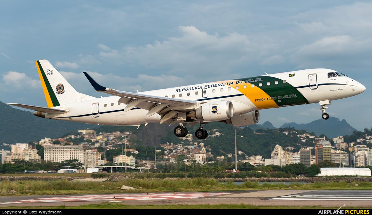 Brazil - Air Force VC-2 2591 aircraft at Rio de Janeiro - Santos Dumont