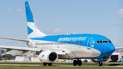 LV-CWL - Aerolineas Argentinas Boeing 737-700