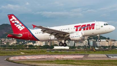 PR-MYM - TAM Airbus A319