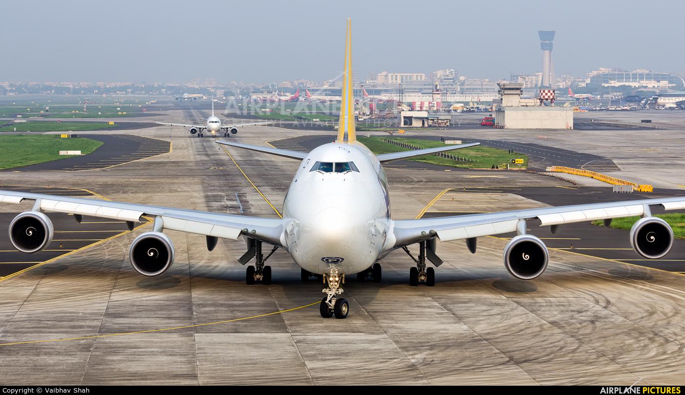 Polar Air Cargo N451PA aircraft at Mumbai - Chhatrapati Shivaji Intl