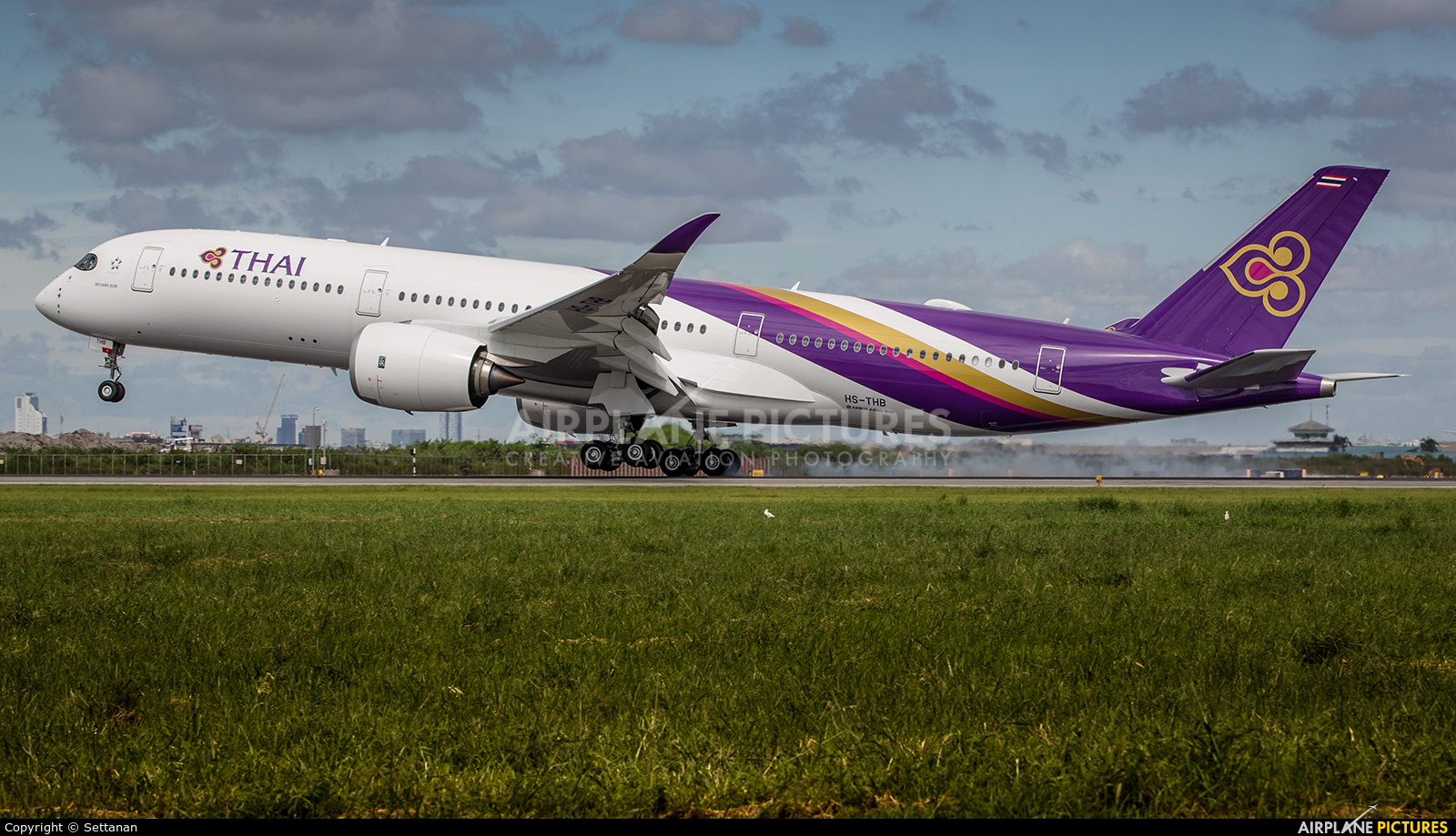 Thai Airways HS-THB aircraft at Bangkok - Suvarnabhumi