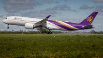 Thai Airways A350 delivery flight title=
