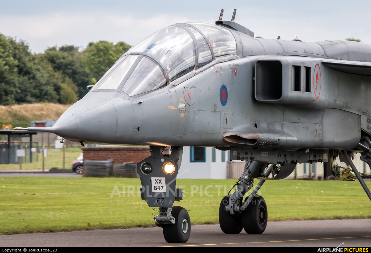Royal Air Force Sepecat Jaguar T 2 at Cosford | Photo ID