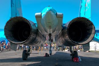 - - Ukraine - Air Force Sukhoi Su-27UB