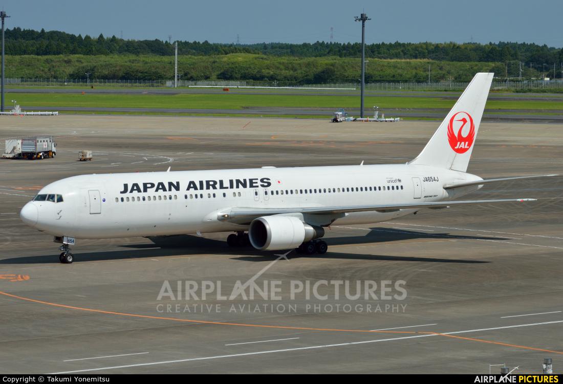 JAL - Japan Airlines JA654J aircraft at Tokyo - Narita Intl