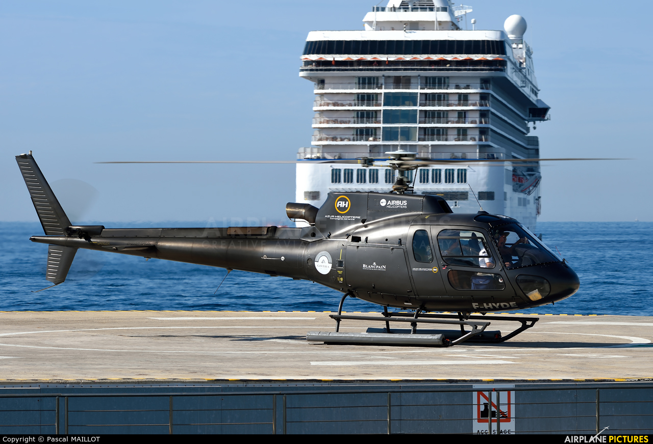 Azur Helicoptere F-HYDE aircraft at Nice - Cote d