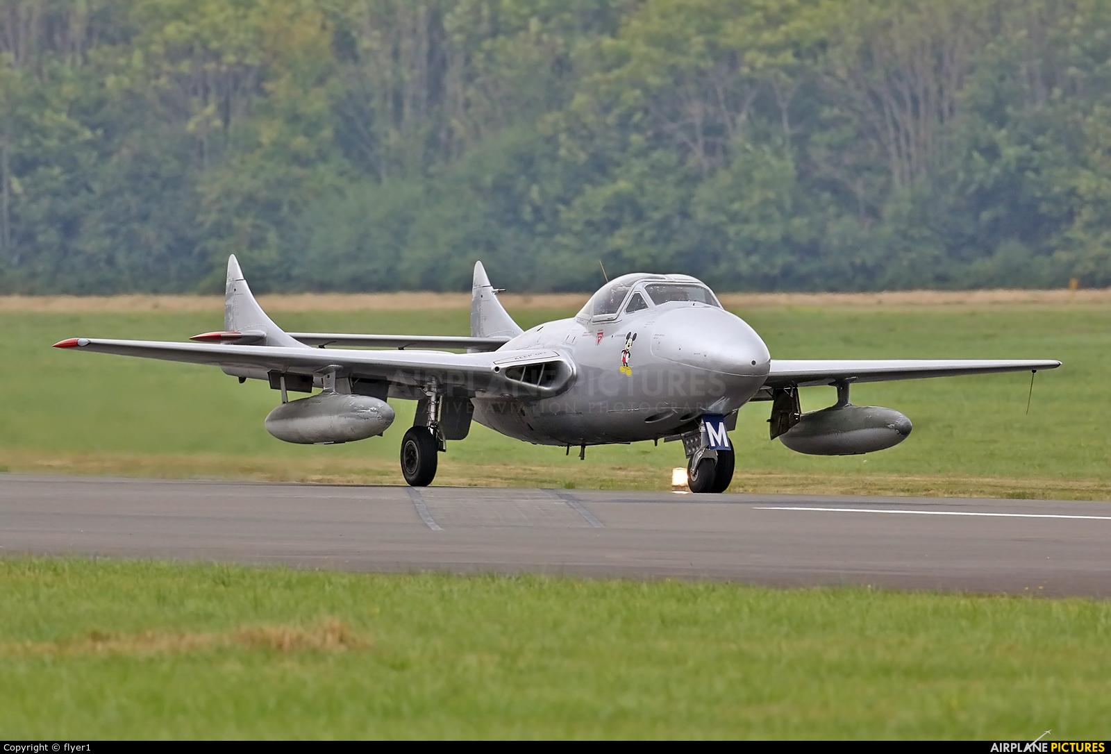 Private LN-DHZ aircraft at Dunsfold