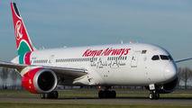 5Y-KZC - Kenya Airways Boeing 787-8 Dreamliner aircraft