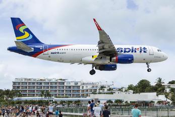 N625NK - Spirit Airlines Airbus A320