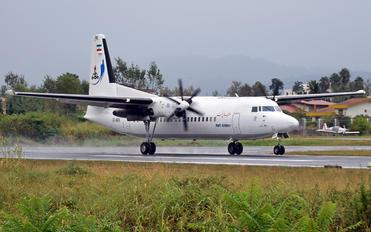EP-NFK - Naft Airlines Fokker 50