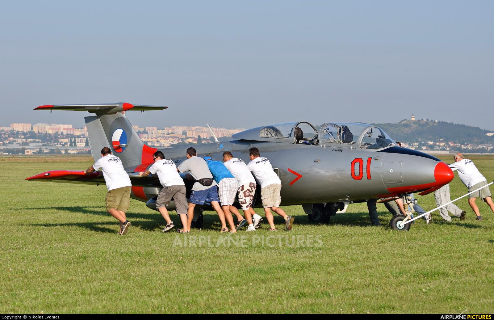 Private OM-SLK aircraft at Nitra