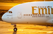 A6-EUE - Emirates Airlines Airbus A380 aircraft