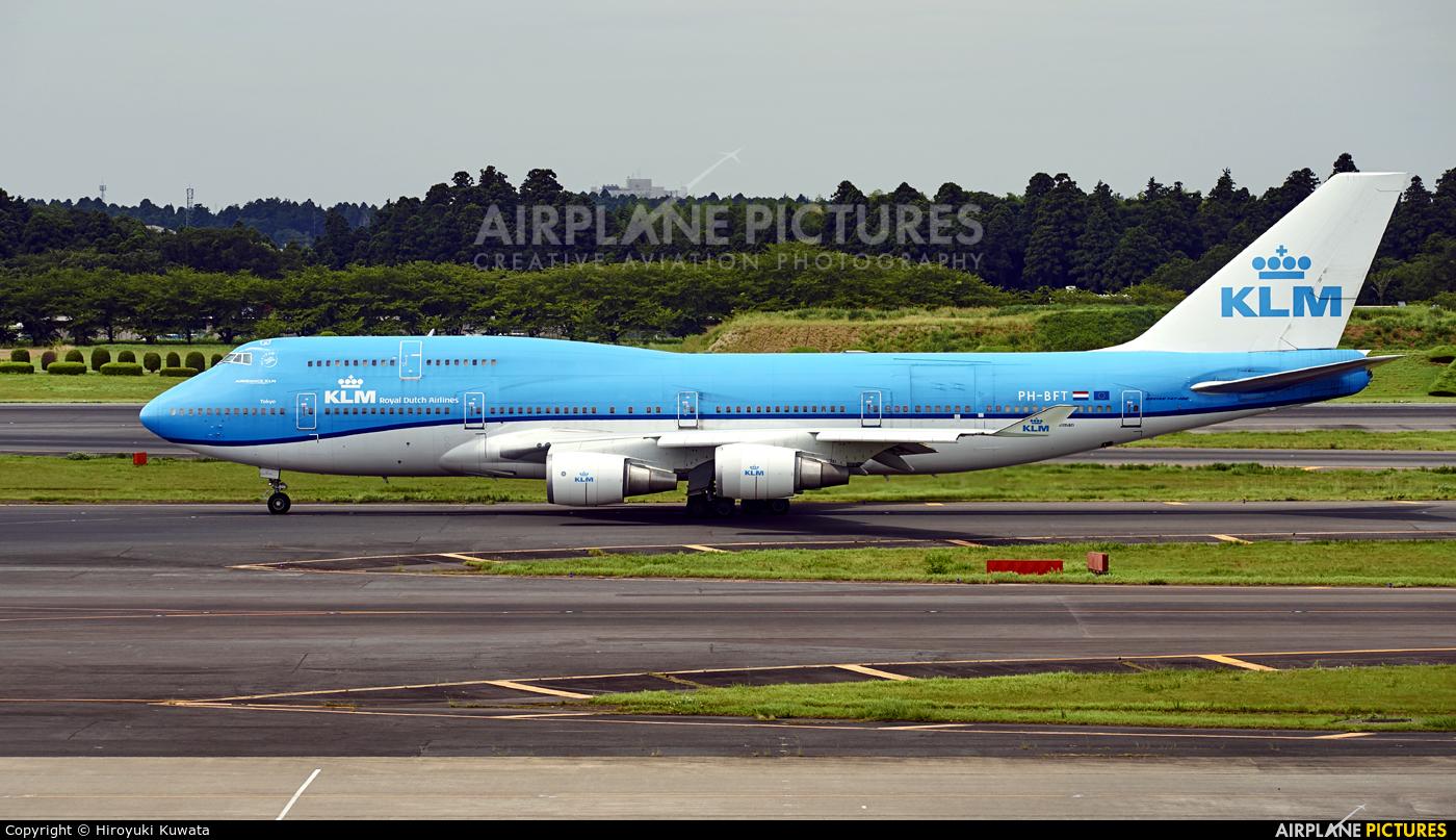 KLM PH-BFT aircraft at Tokyo - Narita Intl