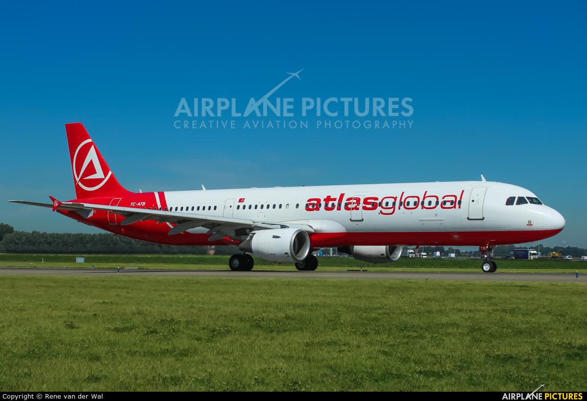 Atlasglobal TC-ATB aircraft at Amsterdam - Schiphol