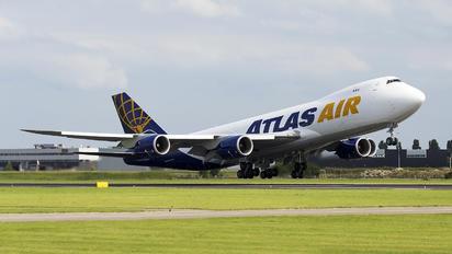 N855GT - Atlas Air Boeing 747-8F