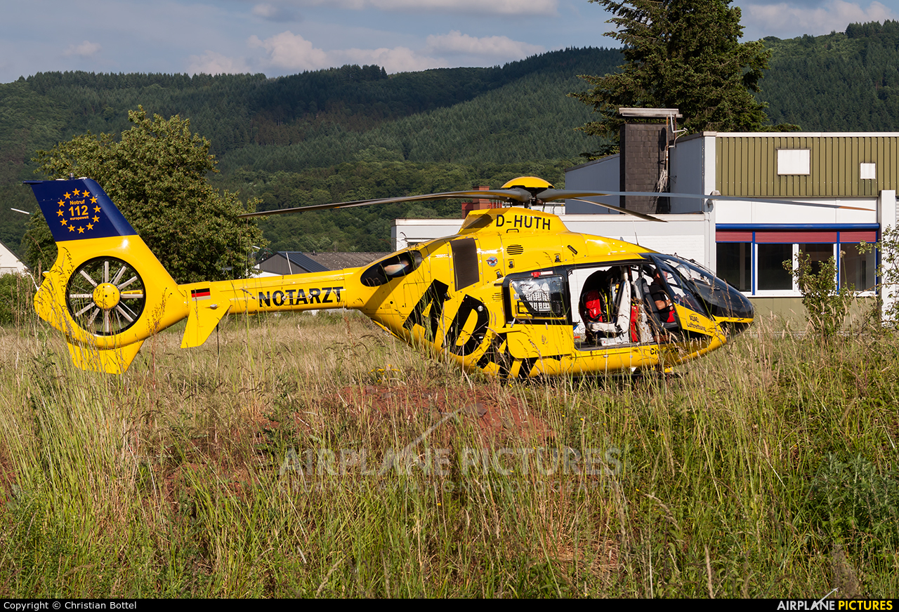 ADAC Luftrettung D-HUTH aircraft at Off Airport - Germany