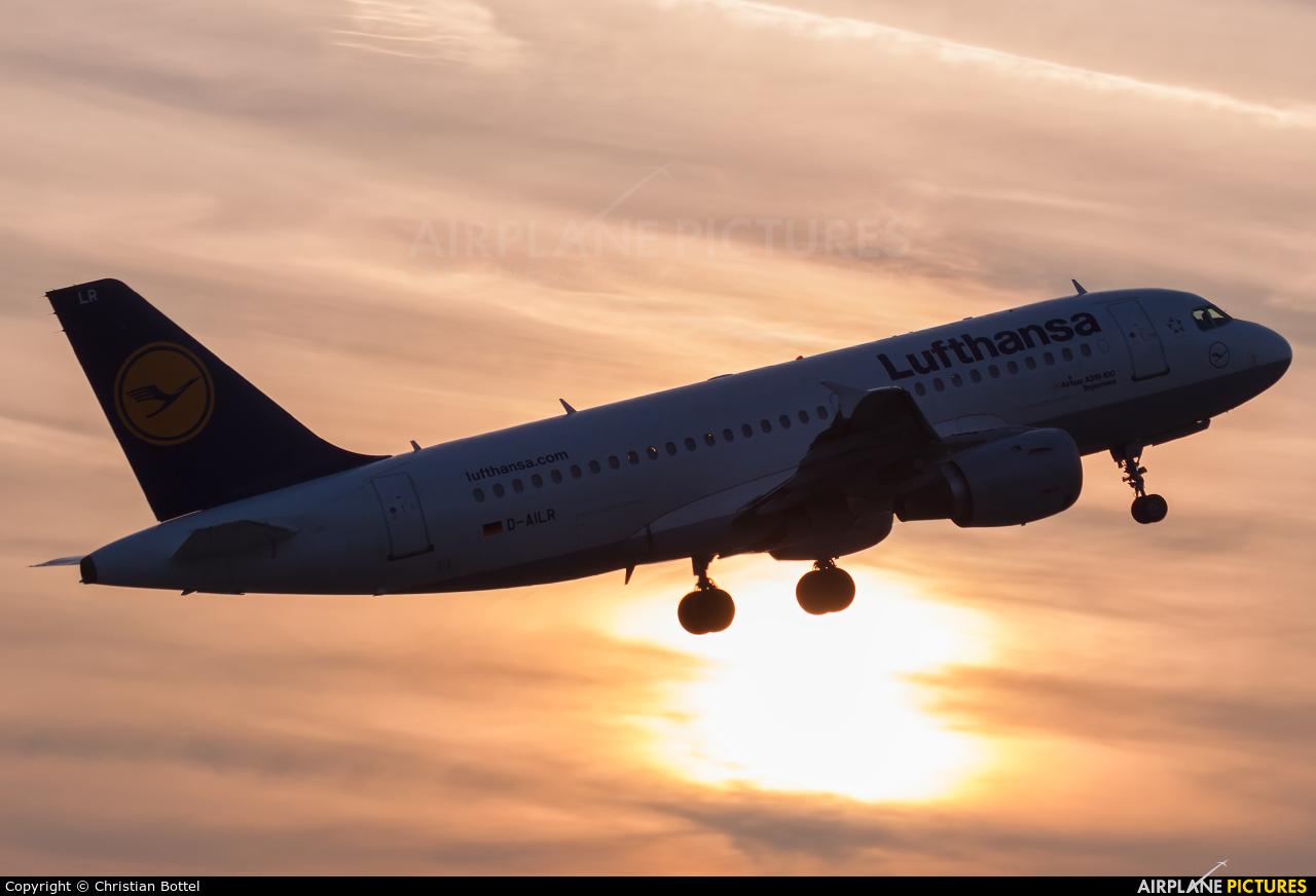 Lufthansa D-AILR aircraft at Frankfurt
