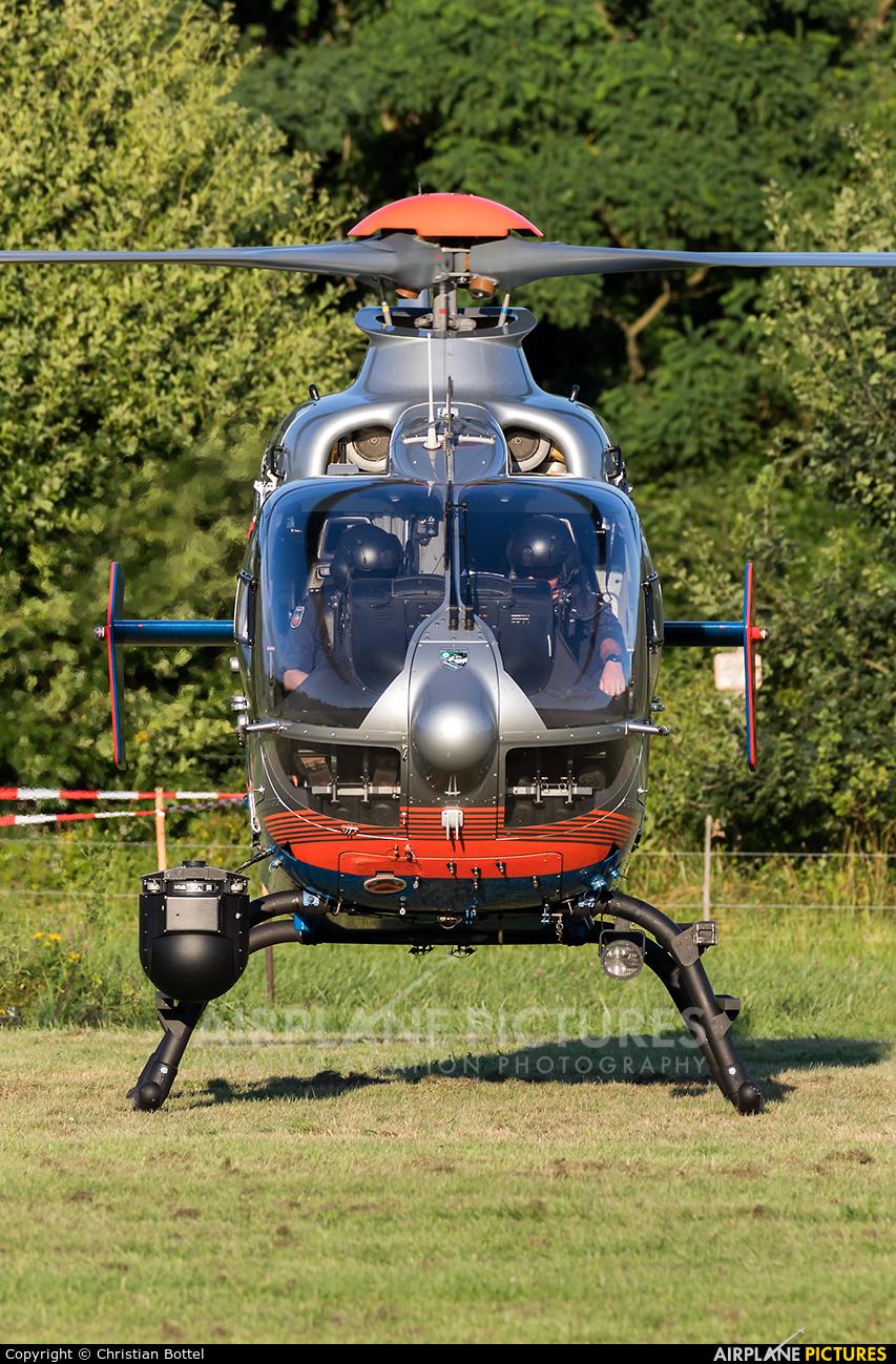Germany - Police D-HRPB aircraft at Traben-Trarbach
