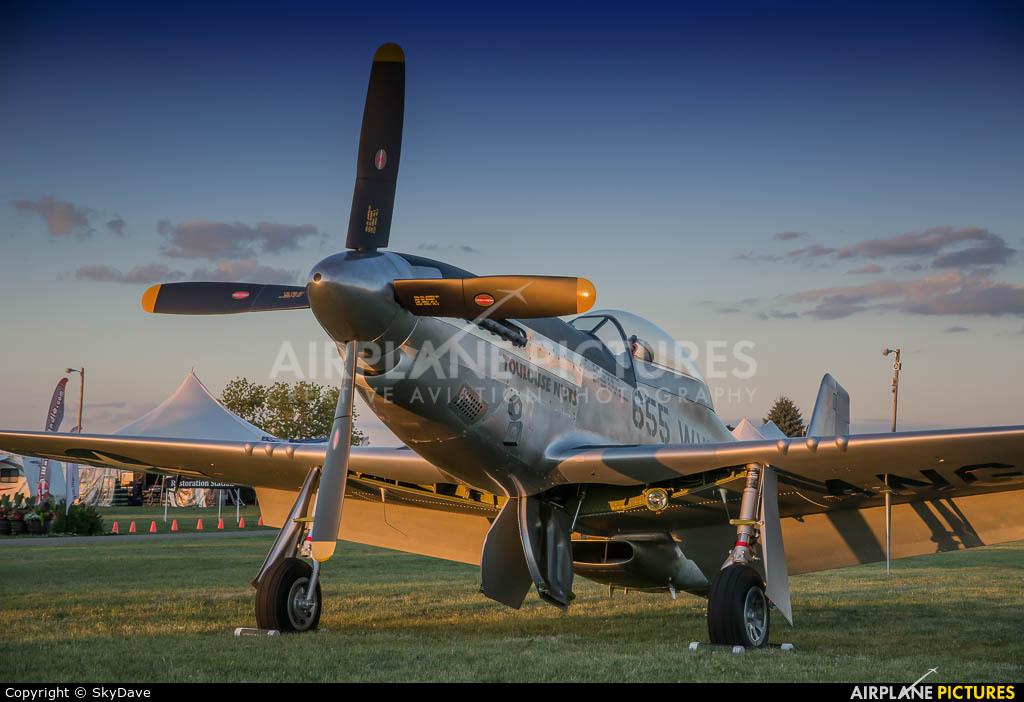 Collings Foundation NL551CF aircraft at Oshkosh - Wittman Regional