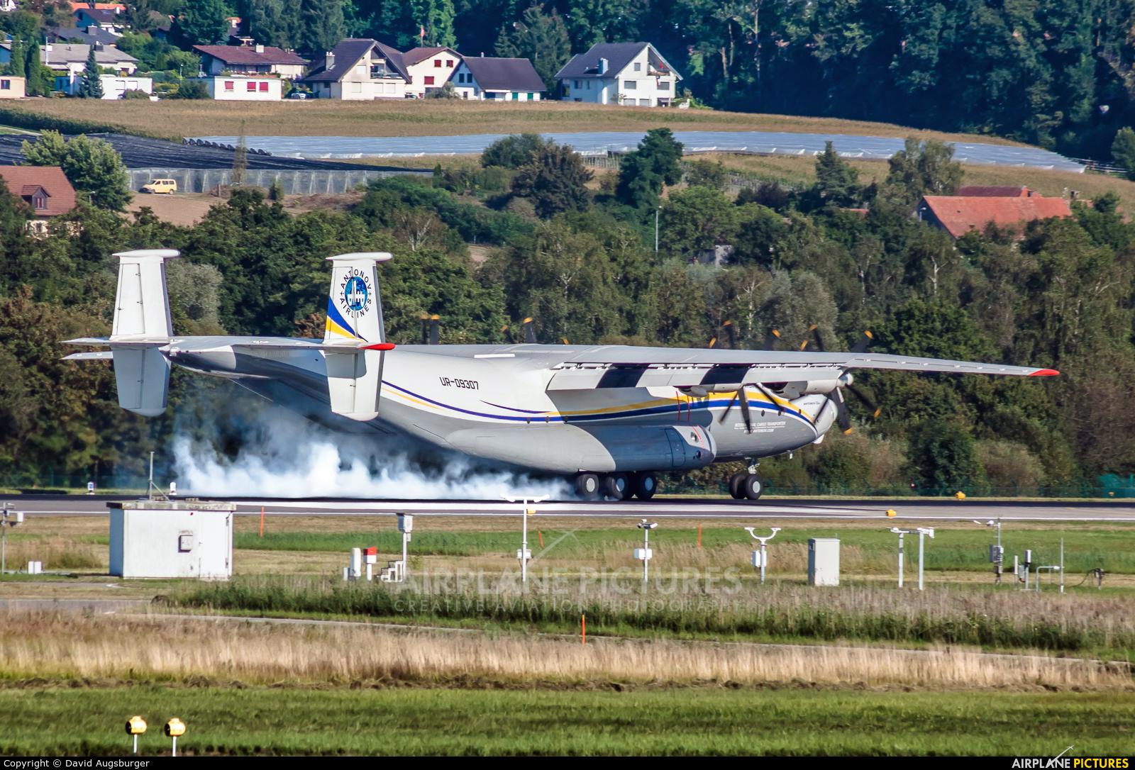Antonov Airlines /  Design Bureau UR-09307 aircraft at Zurich