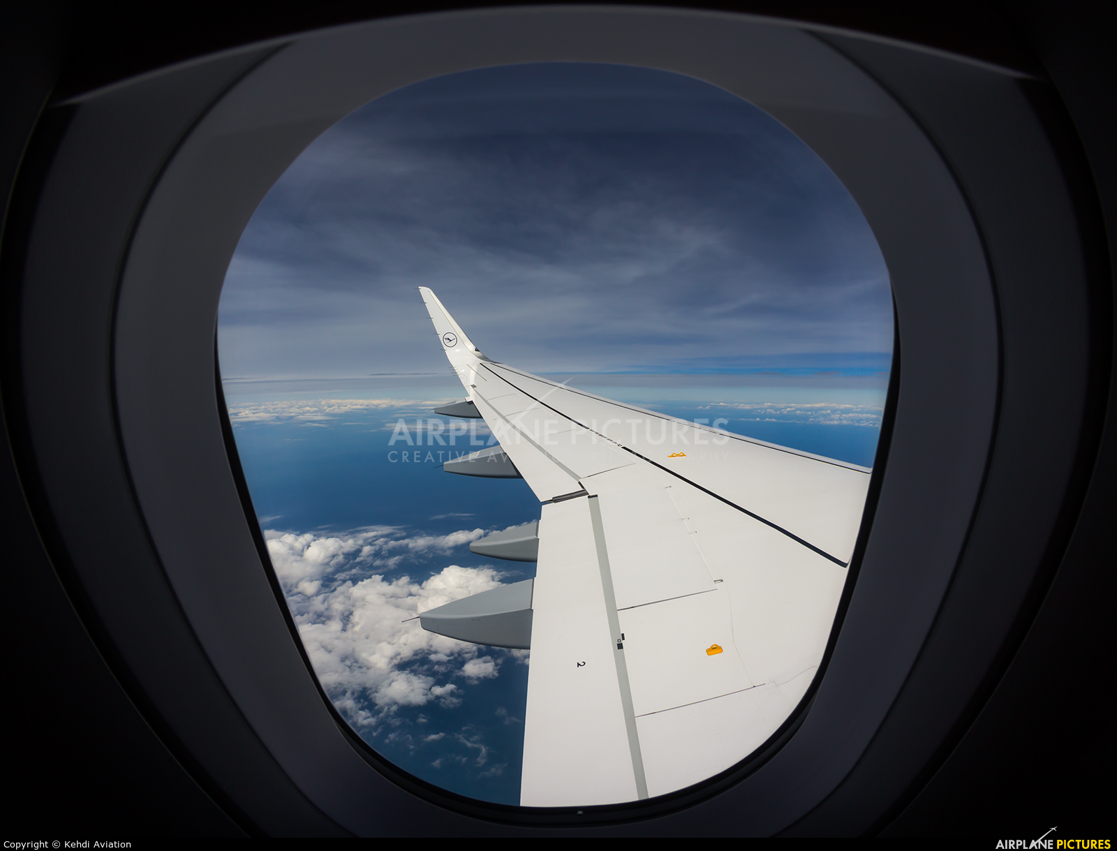 Lufthansa D-AIUU aircraft at In Flight - France