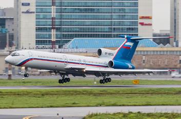 RF-85136 - Russia - Ministry of Internal Affairs Tupolev Tu-154