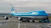 PH-BFB - KLM Boeing 747-400 aircraft