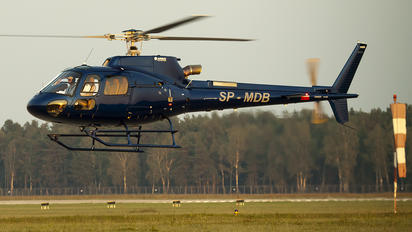 SP-MDB - Private Eurocopter AS350 Ecureuil / Squirrel