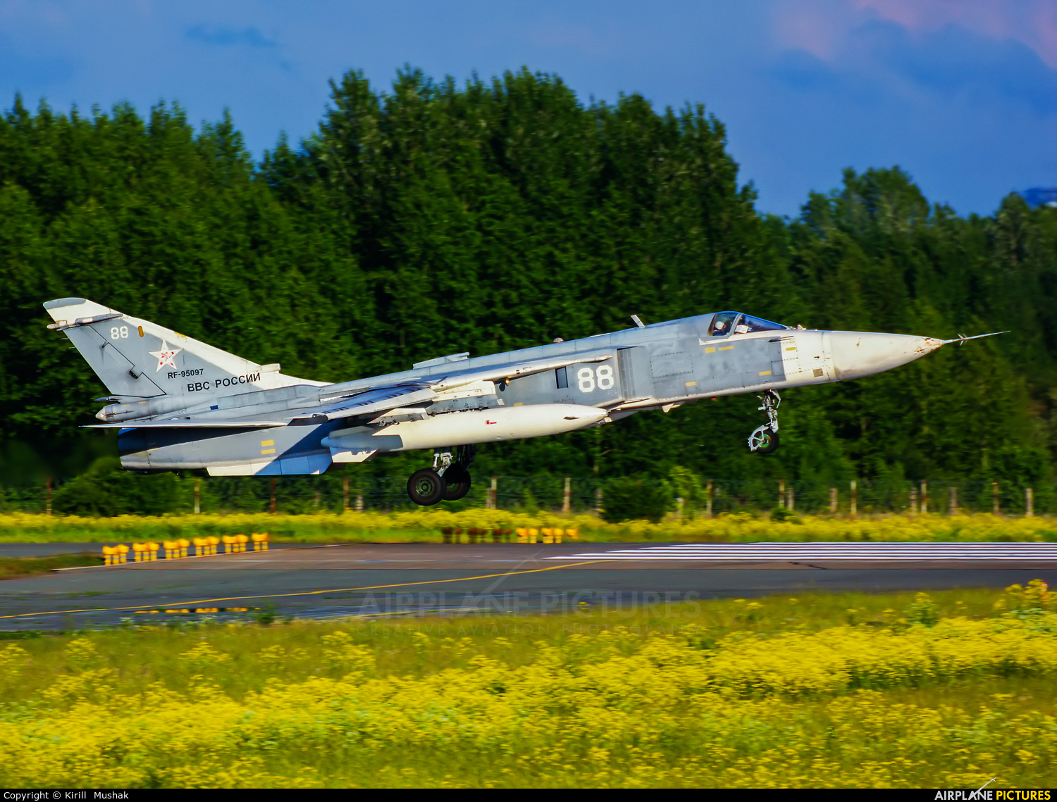 Russia - Air Force RF-95097 aircraft at Undisclosed Location