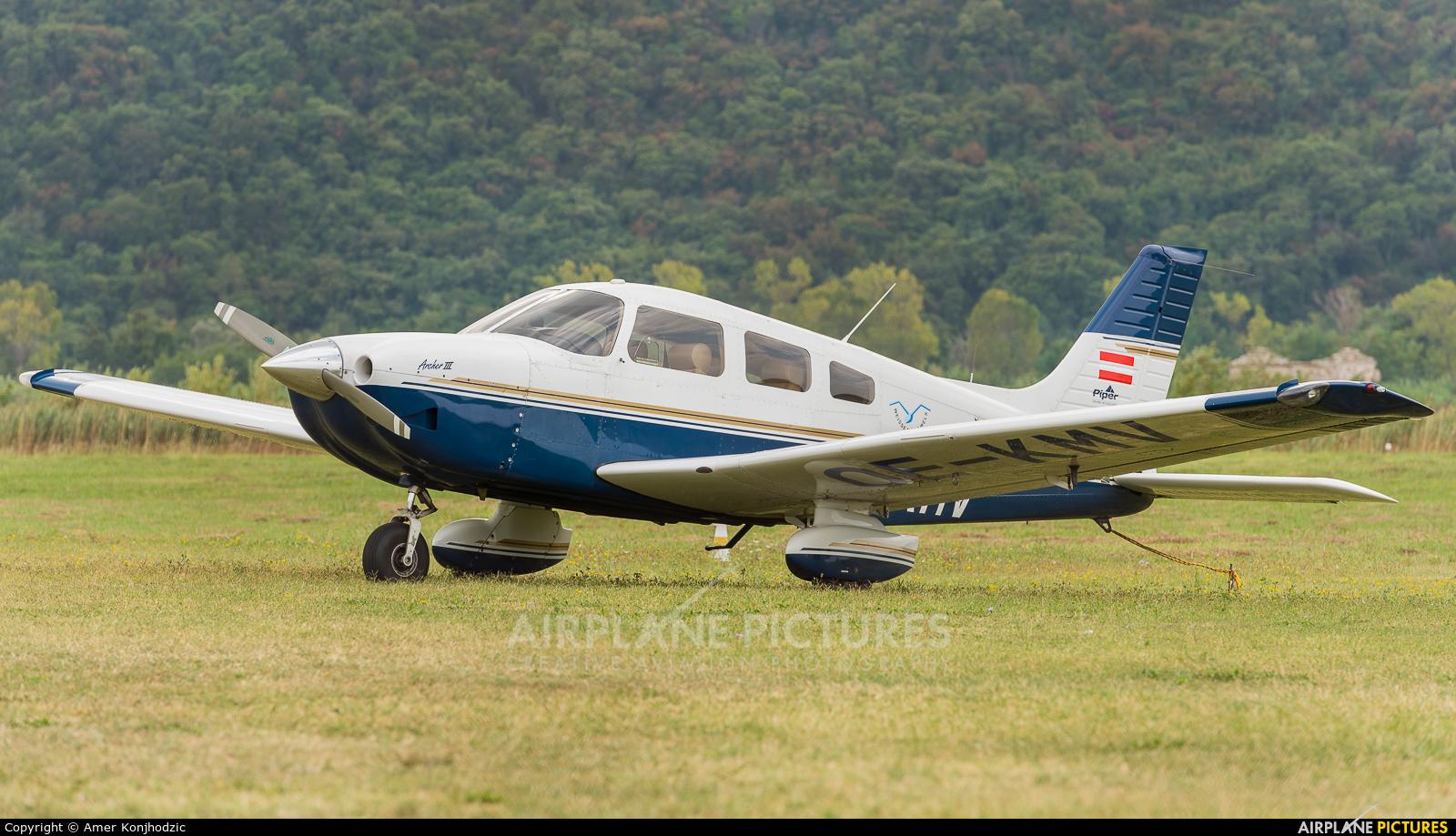 Private OE-KMV aircraft at Portoroz