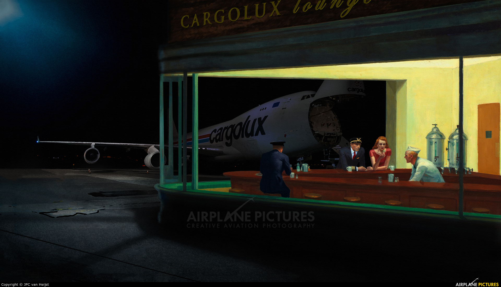 Cargolux LX-RCV aircraft at Prestwick