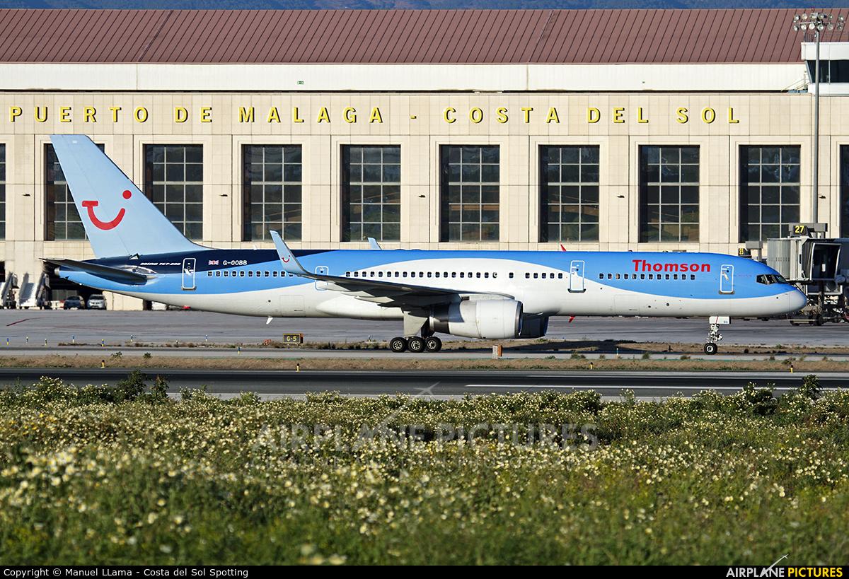 Thomson/Thomsonfly G-OOBB aircraft at Málaga