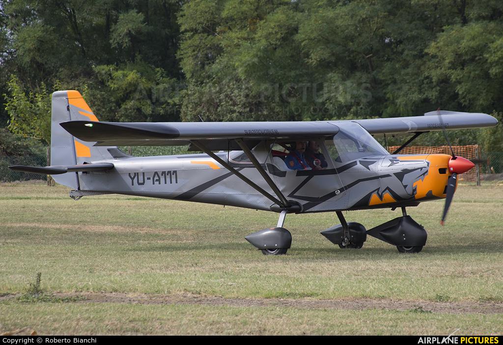 YU-A111 - Private Aero East Europe Sila 450 at Legnago