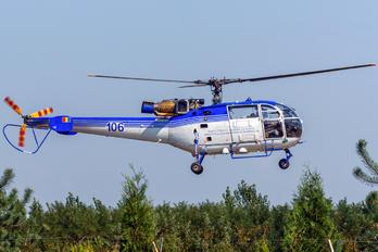 106 - Romania - Police IAR Industria Aeronautică Română IAR-316B Alouette III