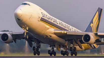 9V-SFO - Singapore Airlines Cargo Boeing 747-400F, ERF