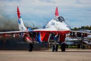 "31 - Russia - Air Force ""Strizhi"" Mikoyan-Gurevich MiG-29 aircraft"
