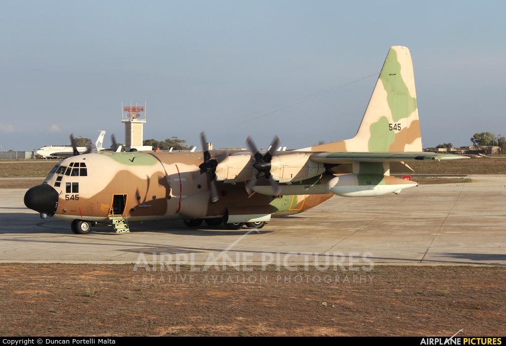 Israel - Defence Force 545 aircraft at Malta Intl