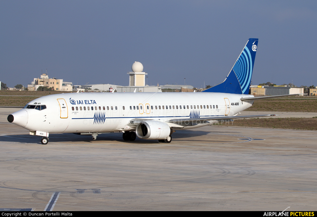 Israel Aircraft Industries 4X-AOO aircraft at Malta Intl