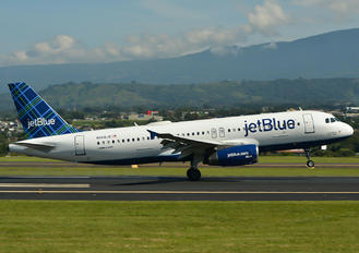 N608JB - JetBlue Airways Airbus A320